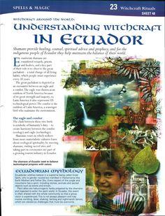 Witchcraft Around the World: Understanding Witchcraft in Ecuador