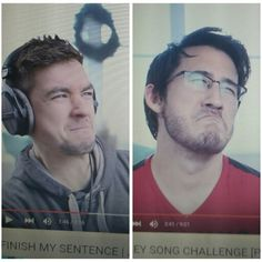 When matthias makes his guests make the same face from challenges