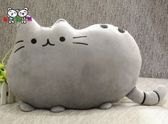 STUFFED CAT PILLOW PATTERN – Patterns & Tutorials