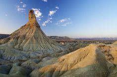 Le désert des Bardenas Reales en Navarre