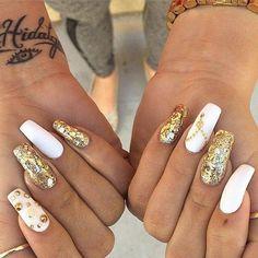 Gold&white xoxo