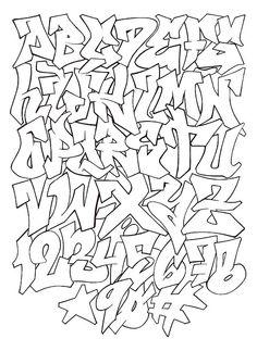 ABECEDARIO GRAFITTI 8
