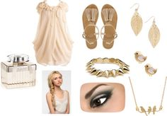 """""""sunday morning in the summer"""" by thefashionfedora on Polyvore"""