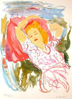 """Charles Camoin."""" ....This is what I love to do"""". RELAX PEACEFULLY. B."""