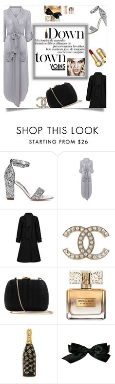"""Yoins:Down Town"" by yoinscollection ❤ liked on Polyvore featuring beauty, Serpui, Givenchy, Marc Jacobs and Chanel"