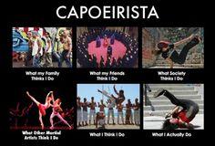 Capoeirista é