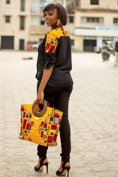 The Most Festive And Fashionable Ankara Styles that Will Knock You off Your Feet - Wedding Digest Naija African Attire, African Wear, African Women, African Dress, African Style, African Inspired Fashion, African Print Fashion, Africa Fashion, Men's Fashion