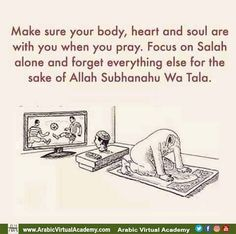Seek refuge in Allah when you lose focus in Salah. Don't waste your Salah when it is the first thing that will be judged on the day of judgment. Islamic Qoutes, Islamic Teachings, Islamic Messages, Muslim Quotes, Religious Quotes, Arabic Quotes, Islamic Art, Hindi Quotes, Quotations
