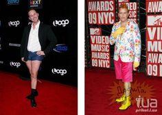 Самые неудачные наряды знаменитостей