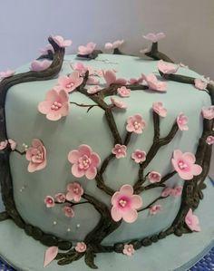 Cherry blossom koek deur Celestial Create