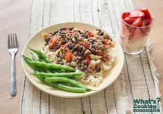 Picadillo #fruit #veggies #grains #protein #MyPlate #WhatsCooking
