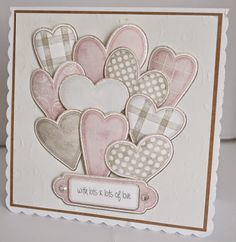 This Special Edition has been created from past workshops and comes to you in both Interactive & Ready to Print along with picture. Valentine Day Cards, Valentines, Anna Griffin Inc, New Baby Cards, Wedding Anniversary Cards, New Baby Products, Birthday Cards, Workshop, Card Making