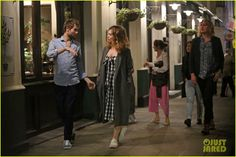 Lily James & Matt Smith Enjoy Night Out with Douglas Booth & Friends