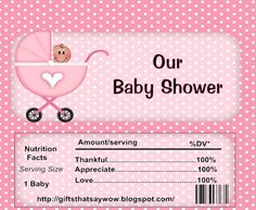 Baby Shower Favor Box Templates Favors Candy Bar Cake