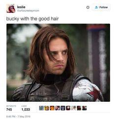 On Bucky's tendency to make dangerous enemies: