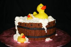 The smash cake I created for my Granddaughter's 1st birthday photo shoot with Jason Kelly Photography.