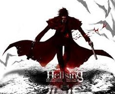 A Demon and the king of vampires yours truly Hellsings Dracula......An amazing anime the blood the gore, all the action you could ever want in a anime :p