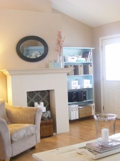 The Complete Guide to Imperfect Homemaking: {Home Staging 101} Part 2: My Living Room