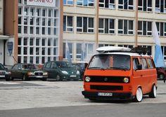 Orange T3 - hvide fælge