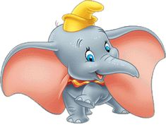 Dumbo is the Disney movie. It stars Dumbo, an elephant with big ears who is ridiculed for them. Gifs Disney, All Disney Movies, Disney Wiki, Disney Magic, Disney Art, Disney Stuff, Beetlejuice, Bambi, Dumbo Characters