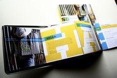 Impressive Student Portfolio Package from Designer Sean Ball