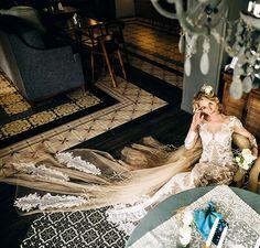 NinaSarkisyants Bridal Couture gown for beautiful @tativolvenkina 💖 Свадебные платья Нина Саркисянц #presentation #newcollection #france #hautecouture #dress #collections #ninasarkisyants #wedding #weddingdress #свадебныеплатья #weddingdress #wedding #italy #france #hautecouture #dress
