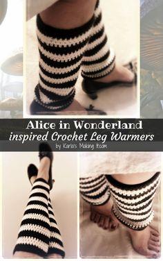 Impreso Knitting instructions-alice/'s Boots Adulto Chica Zapatillas Tejer patrón