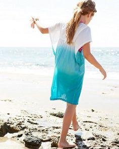 Seaside Cotton Cover-Up - Garnet Hill