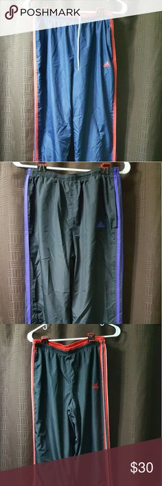 3 pair womans medium Adidas wind pants. All like new Adidas Pants