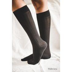 Take me to New-York - chaussettes de voyage noires à compression modérée, chaussettes de contention jolies