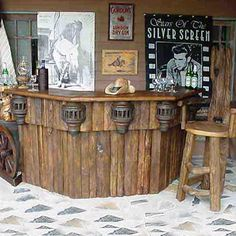 Old Rustic bar