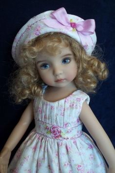 *Darling Rose* Outfit by VSO to fit Dianna Effner Little Darling Doll  https://www.facebook.com/encarni.martinez.79