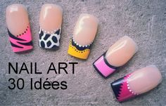Tuto nail art faciles et simples à réaliser spécial débutantes                                                                                                                                                     Plus