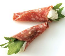 Recipe: Salami and Chèvre Roll-Ups | PCC Natural Markets #appetizers