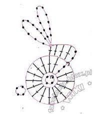 نتيجة بحث الصور عن crochet bunny paper clips