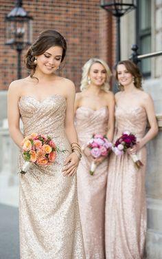 Long Metallic Sequin Bridesmaid Dress 8834_alt3 via Sorella Vita / http://www.deerpearlflowers.com/sorella-vita-bridesmaid-dresses/2/