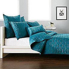 DKNY® Crosstown Quilt in Teal