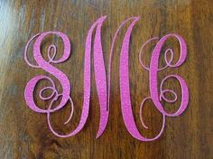 How to create a fancy monogram in Silhouette Studio. Easy to follow 5 minute tutorial.  Cut with your silhouette cameo, silhouette portrait or other machine  #monogram #silhouette #silhouettecameo #vinyl #silhouetteportrait #cameo #decal #tutorial #beginner #silhouettestudio #silhouetteschool #cuttable #svg #papercraft #papercut #scrapbook #scrapbooking #monogramframe #cutfile #cricut #craft #crafting