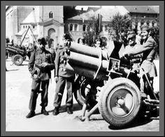 Hungarian rocket launchers World History, World War Ii, Military History, Cannon, Hungary, Wwii, Weapons, German, World War
