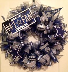 Dallas Cowboys Mesh Wreath