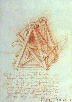 Leonardo da Vinci - Codex Madrid II/154-V Design
