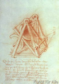 Leonardo da Vinci - Codex Madrid II/154-V Design