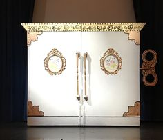 The music box, Once Upon a Mattress, decorated by Maggii Sarfaty