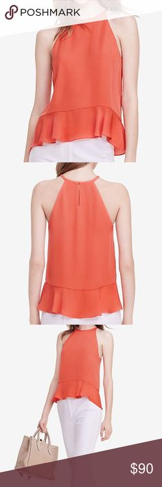🆕Diane von Furstenberg, Lizzy Silk Halter Top Diane von Furstenberg, Lizzy Silk Halter Top, size medium, color ocean coral. Gorgeous top!! Perfect for your spring/summer wardrobe! ⚡️Bundle and save even more!! Diane von Furstenberg Tops Tank Tops