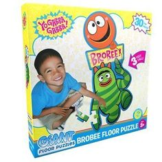 Yo Gabba Gabba Brobee Giant Floor Puzzle by Unknown. $12.95. Includes (1) Yo Gabba Gabba Brobee Giant Floor Puzzle.. Save 34% Off!