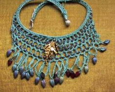 crochetgallery2...Belly dancer's jewelry.. There are the basic guidelines for making this necklace!