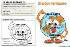 II>★★★★ La representación de la Tierra - Recursos educativos y material didáctico para niños de primaria. Descarga La representación de la Tierra gratis.