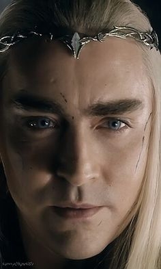 """The pretty King of Mirkwood is pretty!"""