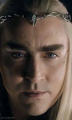 """The pretty King of Mirkwood is pretty!"""