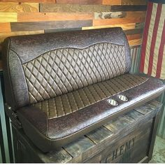 "3,473 Likes, 57 Comments - The Hog Ring (@thehogring) on Instagram: ""I love me some #plaid !!! Check out this seat by @leonharvey82 #thehogring #handmade…"""
